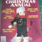 Vintage 1983 National Doll World Christmas Annual