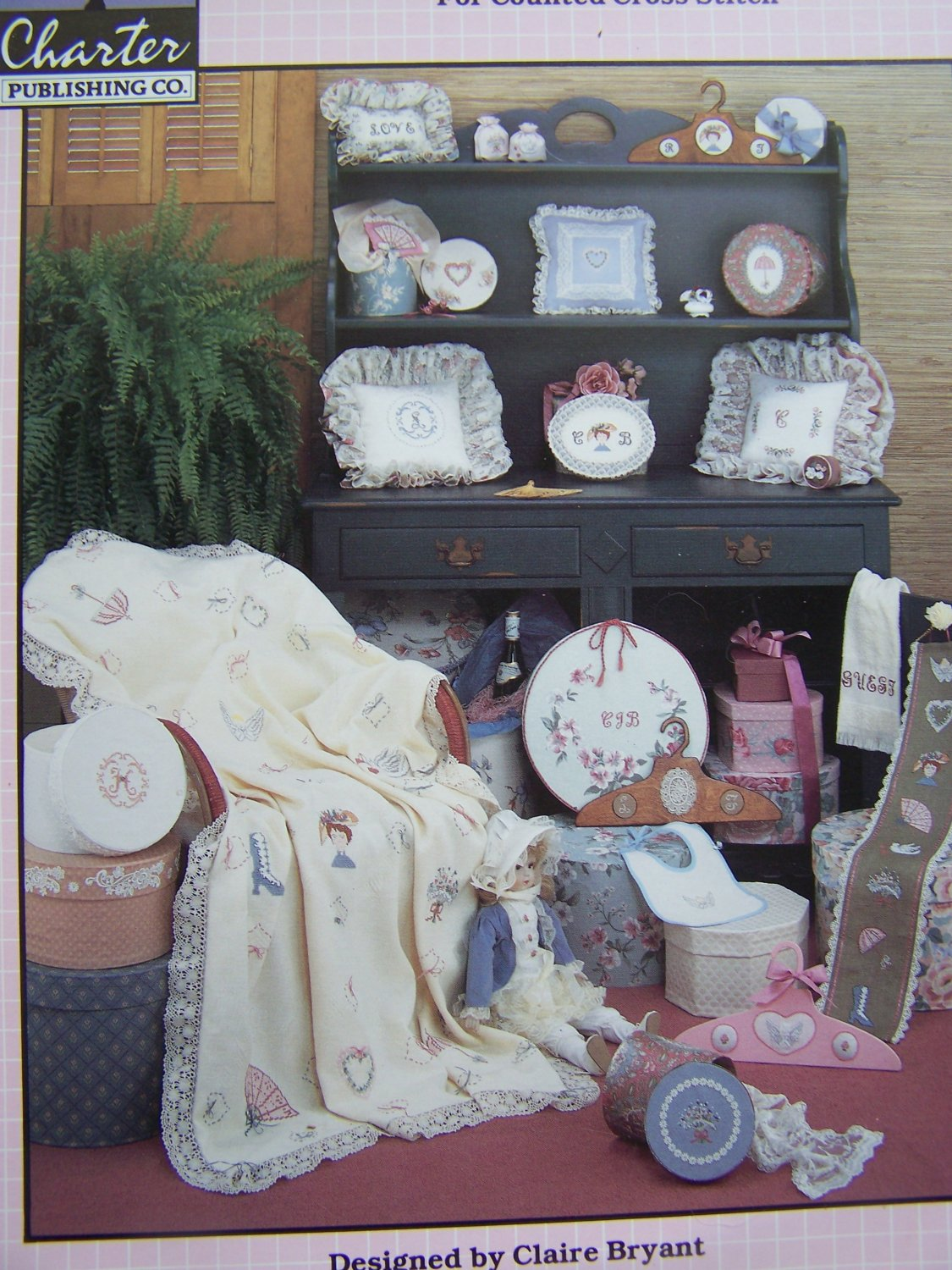 VTG Counted Cross Stitch Patterns Victorian Sentiments