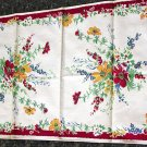 Unused Vintage Wilendur Floral Print Kitchen Towel