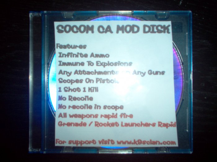SOCOM Combined Assault Mod Disk (Basic Version)