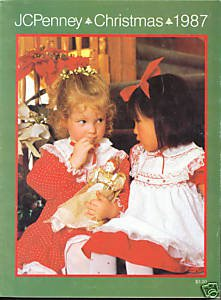 JC PENNEY  WISH BOOK  1987   CHRISTMAS PENNEYS CATALOG