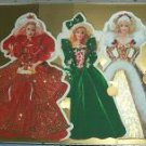 HOLIDAY BARBIE COLLECTION DISPLAYABLE GREETING CARDS