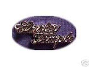 1950's SHIRLEY TEMPLE SCRIPT PIN-repro