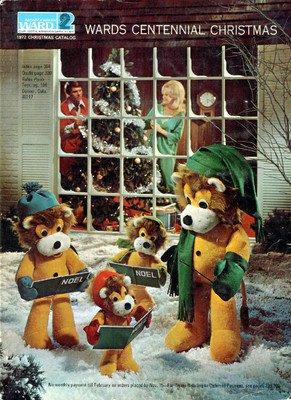 1972 WARDS CENTENNIAL CHRISTMAS CATALOG  WISHBOOK