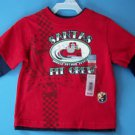 SANTAS PIT CREW LONG SLEEVE SHIRT 18 M NEW