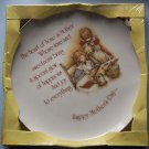 "HOLLY HOBBIE MOTHER'S DAY  10"" DECORATIVE PLATE MIB"