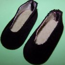 "MADAM ALEXANDER  BLACK SLIP-ON SHOES -=-2""x7/8""Mint fit MA, Toni and Many Others"