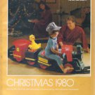 MONTGOMERY WARD Christmas Catalog for 1980 WARDS