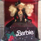 1991 HAPPY HOLIDAY BARBIE DOLL A VISION IN GREEN VELVET NRFB