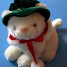 "7""  SITTING HOLIDAY CHRISTMAS KITTEN FUN WORLD KITTY CAT"