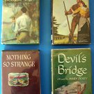 4 BOOKS:  DEVIL'S BRIDGE - NOTHING SO STRANGE - THE BENGAL TIGER - THE RIFLEMAN