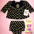 BABY MICKEY MOUSE & CO 0-6/NB DRESS & PANTIES  NEW