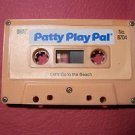 1987 IDEAL TALKING  PATTY PLAY PAL CASSETTE LET'S GO TO THE BEACH