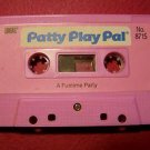 1987 IDEAL TALKING  PATTY PLAY PAL CASSETTE A FUNTIME PARTY