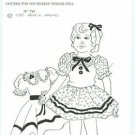 "SHIRLEY TEMPLE 16"" PARTY DRESS PATTERN-uncut"
