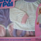 """1987 IDEAL TALKING  24"""" PATTY PLAYPAL EXERCISE GEAR  & A PLAYPAL WORKOUT   NRFB"""