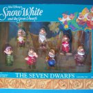 Disney's SNOW WHITE and the SEVEN DWARFS The Seven Dwarfs #5184 Mattel NRFB