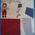 "23"" RAGGEDY PATCH KIDS ANDY FLYING KITE  CUT-OUT PILLOW PANEL DOLL  UNCUT - NEW"