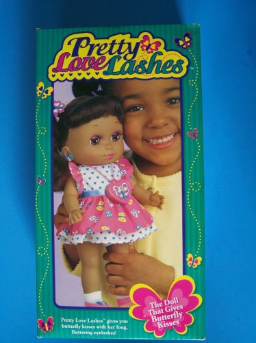 """1998 TRU 14"""" AA PRETTY LOVE LASHES DOLL Gives Butterfly Kisses w/Locket NRFB NEW"""