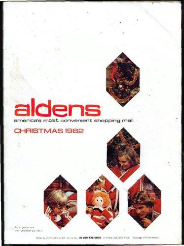 ALDENS WISH BOOK FOR THE 1982 SEASON CHRISTMAS CATALOG - Original Sleeve