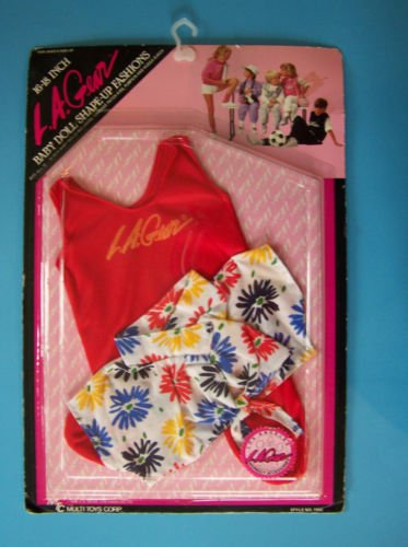 """L.A. GEAR 16-18"""" BABY LOS ANGELES WORKOUT FASHION  198 MTC MOC CPK  & Others"""