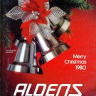 1980 ALDENS MERRY CHRISTMAS CATALOG WISHBOOK for '80