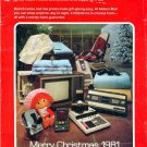 1981 ALDENS MERRY CHRISTMAS CATALOG WISHBOOK for '81