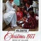 1977 ALDENS MERRY CHRISTMAS CATALOG WISHBOOK for '77