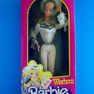 1980 WESTERN BARBIE WINKING DOLL AUTOGRAPH  #1757 MB