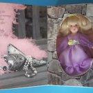 "GREETING CARD for MOTHER  DOLL   6"" Blond Hair &  Lavender Eyes 199 NRFB"