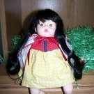 "1977 Madame Alexander SNOW WHITE HUGGUMS 12"" DOLL Dress Tagged"