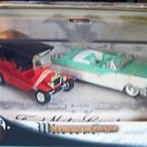 HOT WHEELS FORD MOTOR CO FAB FORDS LE 2 Car Set 56 FORD CONVERTIBLE & MODELT MIB