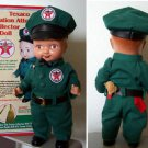 """TEXACO  OIL CO.13""""  STATION ATTENDANT BUDDY LEE DOLL w/  COLLECTIBLE TIN"""