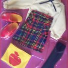 """1984 17""""  KIMBERLY FASHIONS SCHOOL OUTFIT fits 16 17"""" Dolls Mint in Package"""