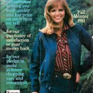 Huge MONTGOMERY WARD  WISH BOOK 1981 FALL WINTER CATALOG Cheryl Tiegs 1623 Pages