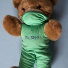 "14"" VITAL SIGNS DR DOCTOR TEDDY BEAR The Pulse of South Florida's Healthcare"