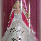 2001 HOLIDAY BARBIE DOLL 1st Holiday dressed in Shimmering WhiteGown NRFB