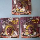 (3) Vintage CALIFORNIA RAISINS WIND-UP TOYS 1987 Nasta MIP's #12410