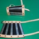 Splinted Leather Bracers, LARP SCA