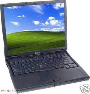 DELL LATITUDE C610 P3 1 GHZ 256MB 20GB XP PRO WIFI 1GHZ WITH XP PRO CD INCLUDED