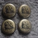 Lot of 4 Smuttynose Brewing beer bottle caps - Portsmouth, NH