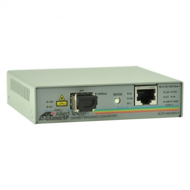 Allied Telesis Media Converter 10/100/Gigabit 500m LC, AT-GS2002/SP-10