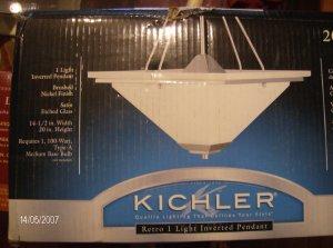 Kichler Retro Inverted Pendant Light