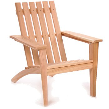 Western Red Cedar Adirondack Easybac Chair by All Things Cedar AE21U