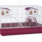 Deluxe Hamster & Gerbil Cage - Bordeaux Red PP-SP2060R
