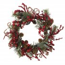 "24"" Assorted Berry Wreath 4838"