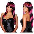 Stefani Wig Pink Black  CNVXGN-PW-8040