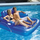 "Swimline 74"" x 60"" Kick-Back Double Person Lounger SKU: 90522"