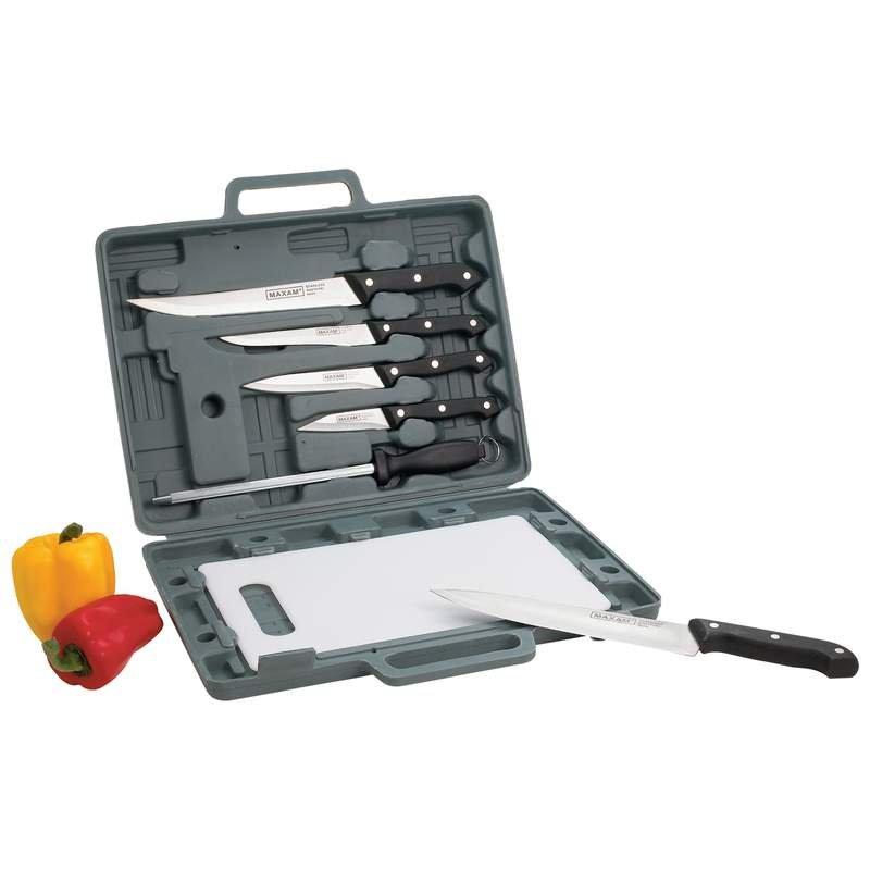 CT82 - Maxam® Knife Set with Cutting Board