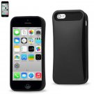 Reiko PC Protector Cover With UV for Iphone5C BLACK UVPC-IPHONE5CBK